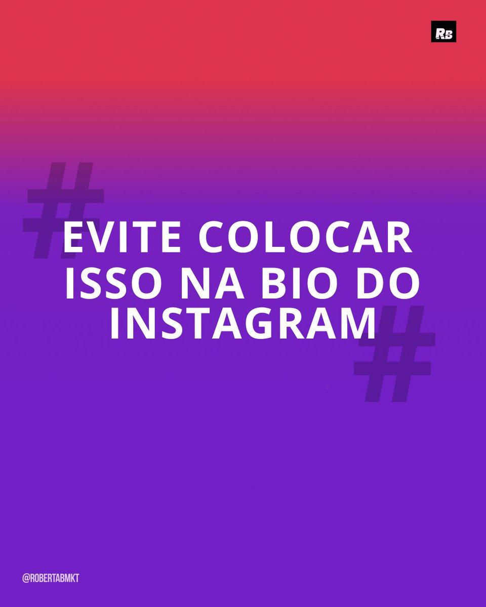 Quer saber o acontece quando você colocar hashtags na sua bio? A resposta está no meu canal secreto do telegram. https://bit.ly/Canalsecreto  #mktbrasil #conteudo #mktdigital #conteudodigitalpic.twitter.com/sotERMycvb
