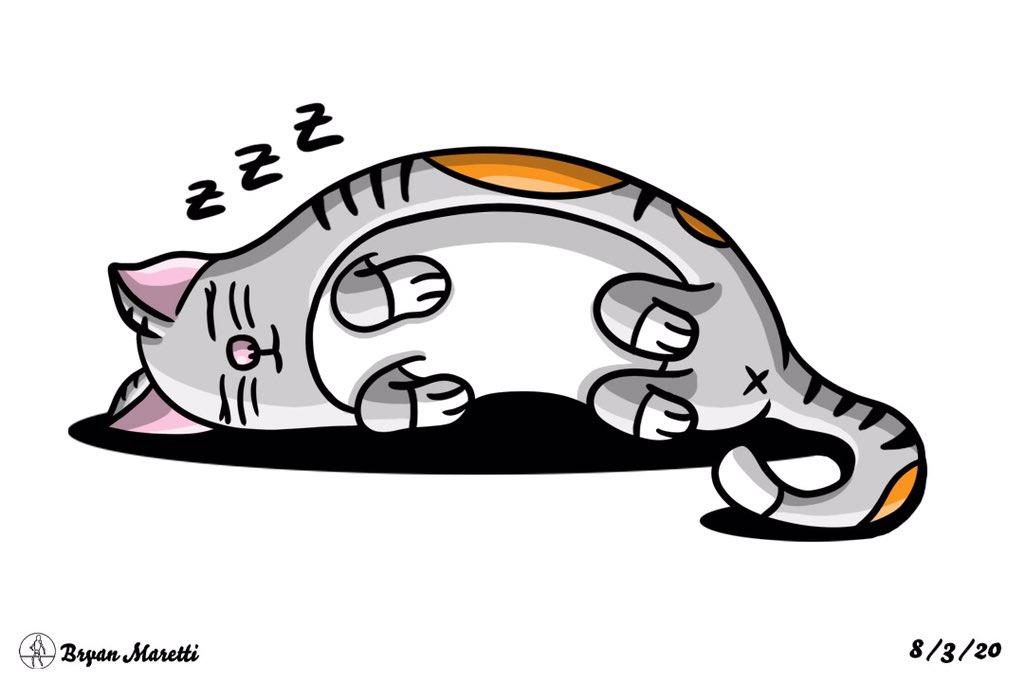 A Sleeping Kitty #digitalartist #kitty #cat #dailydrawing pic.twitter.com/vHGsfUuTcv