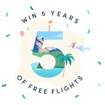 Image for the Tweet beginning: *WIN FREE FLIGHTS*  Scott's Cheap Flights