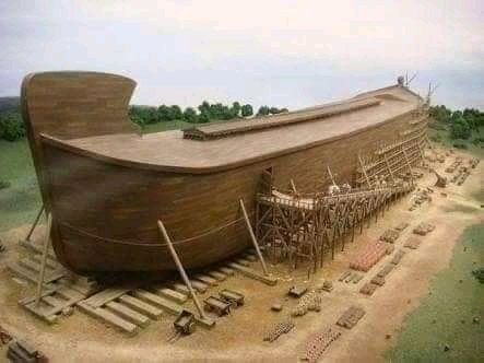 The ark of Noah rebuilt in Kentucky. It has the same measurement with the Biblical Ark of Noah. The ark 510 feet long and $100 million was spent for the construction. https://t.co/R7Zx7Uqk0i
