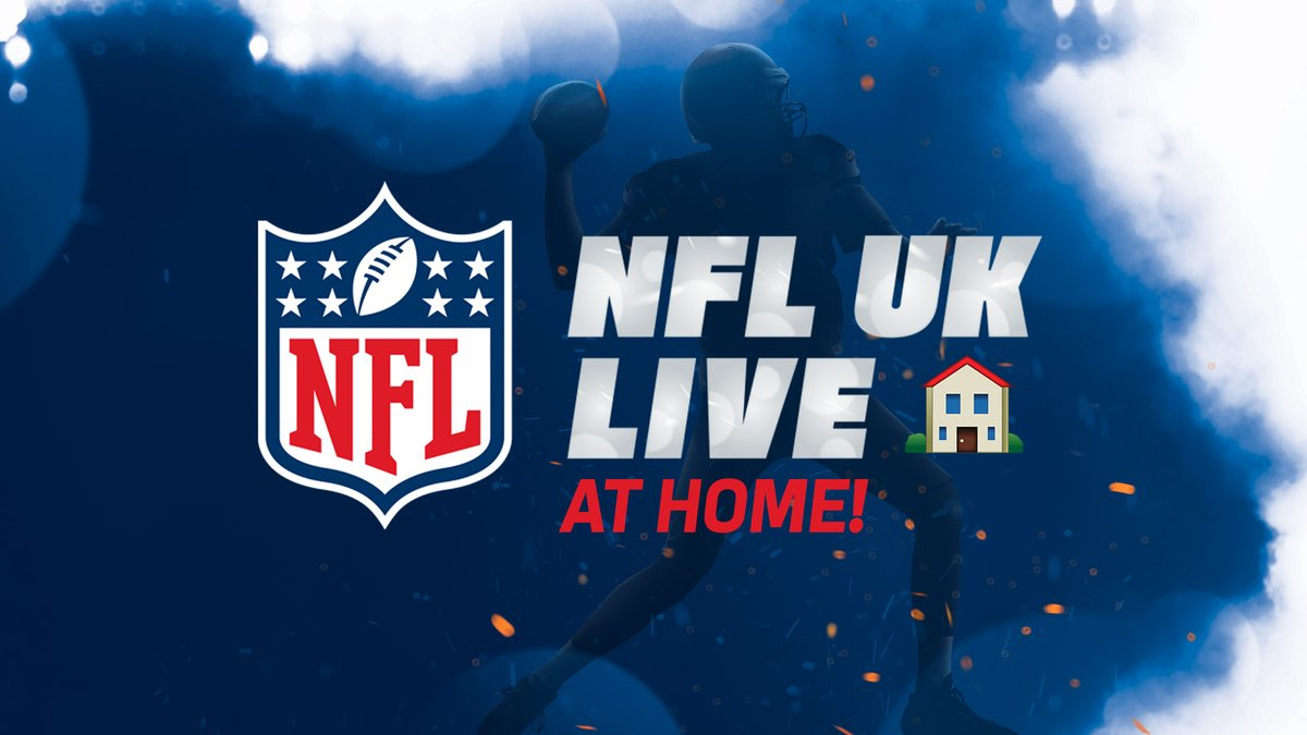 NFL UK Live is back... from 🏠!  Join @neilreynoldsnfl, the @AroundTheNFL heroes and other special guests this Thursday LIVE from 7pm.  Limited 'seats' available. Register now!  👉 https://t.co/h572MdmvSI 👈 https://t.co/uSj5SqWPHM
