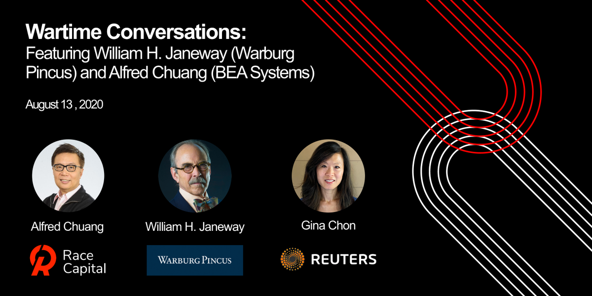 In addition our partner, Alfred Chuang who was the CEO of BEA Systems will be sharing his valuables insights in a conversation moderated by @GinaChon of @Reuters @Breakingviews  To RSVP for the event: https://t.co/615ufs3lB6 https://t.co/cSoPsZZVvO