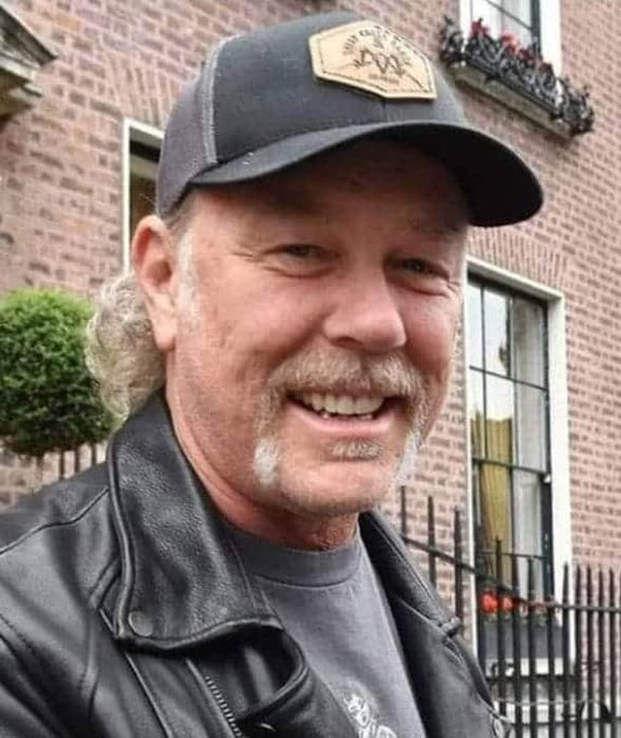 Happy birthday to the king of metal!  James Hetfield!!!