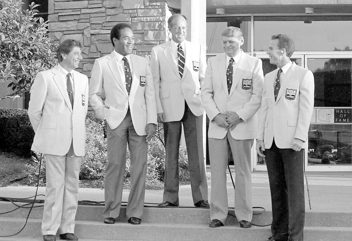 On this day in 1985, one of the greatest @ProFootballHOF classes was inducted in Canton.