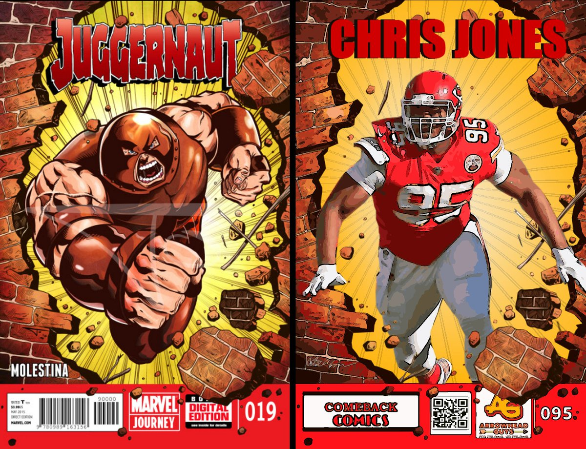 Theres no stopping the Stone Cold Juggernaut! @StoneColdJones #ChiefsKingdom #Chiefs