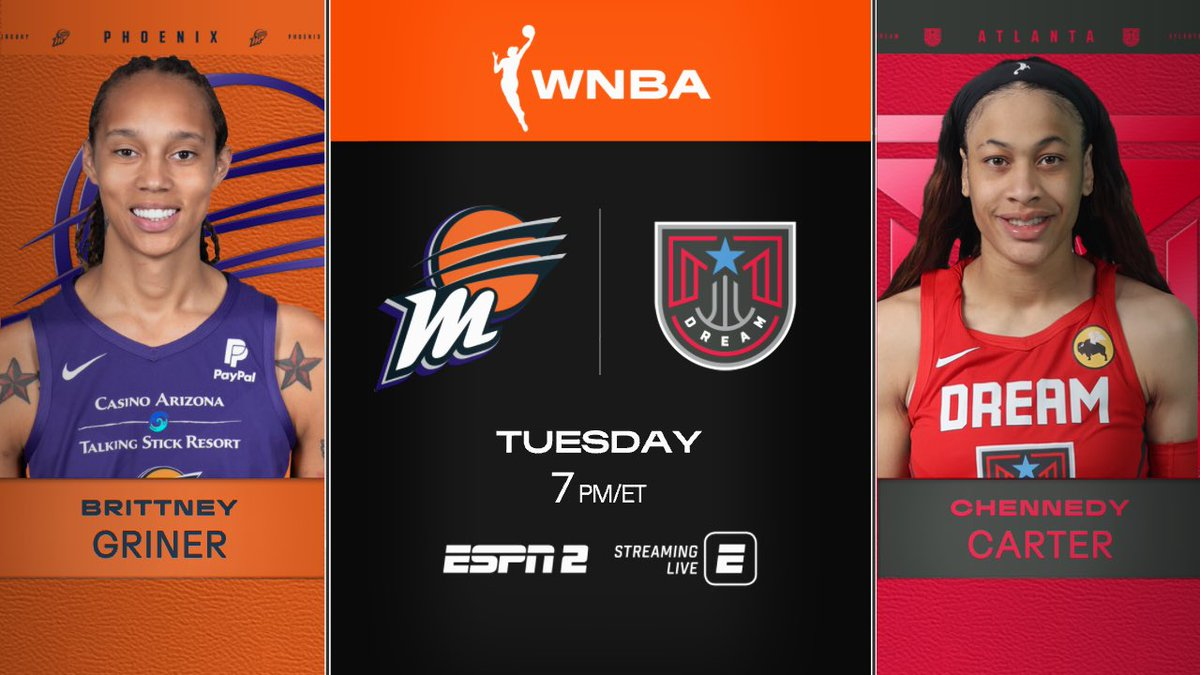 Busy week coming up! Tune in @WNBA https://t.co/elIQBaHVrA