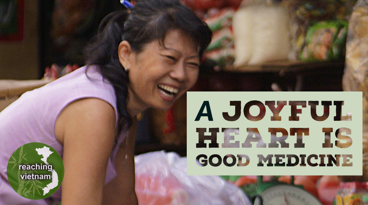 "test Twitter Media - Choose to have a smile. Think of all the goodness in your life. Know that despite circumstances Christ can be found. ""A cheerful heart is good medicine, but a crushed spirit dries up the bones."" Proverbs 17:22 #pray4vietnam https://t.co/sfxx19uFFy"