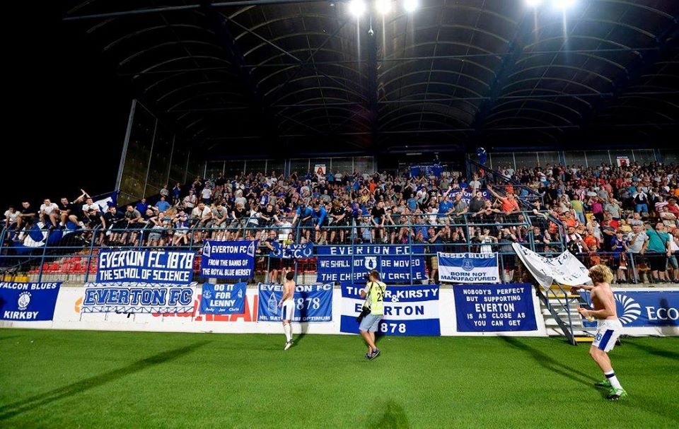 ON THIS DAY 2017: Everton at Ružomberok #EFC