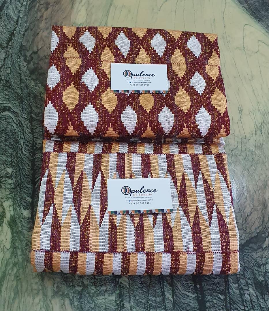 Dazzle in our handwoven Silk Kente. • •  Silk & Shimmer  Contact us on 0505610951 for your authentic kente • • #kente #silkkente #kentebride #lustrous #ghanaweddings #onpoint #traditionalbride #idoghana #landofkente #handwoven #kentecouple #indigenousghanaianhandwovenkentepic.twitter.com/xqn8jHBoxF