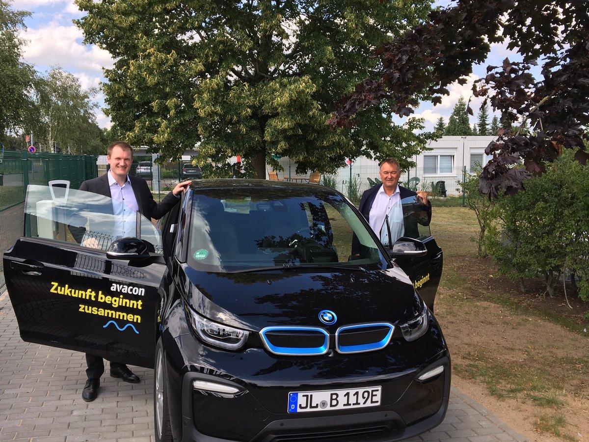 Ab sofort ist auch in Möser, im Jerichower Land, ein neuer BMWi3 unterwegs. Unser Förderprogramm für kommunale #EAutos läuft noch bis zum 31. März 2021. Mehr dazu: http://www.avacon.de/e-autospic.twitter.com/OUJlA7GAe4