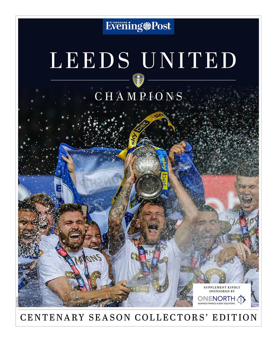 We promised we'd have something special for Leeds United fans 😉 a huge thank you to our sponsors @OneNorthGroup. To get your copy pre-ordered in the UK visit yepleedsfc.eventbrite.co.uk and for orders outside the UK or multiple copies email us at subscriptions@jpimedia.co.uk 💙💛🗞