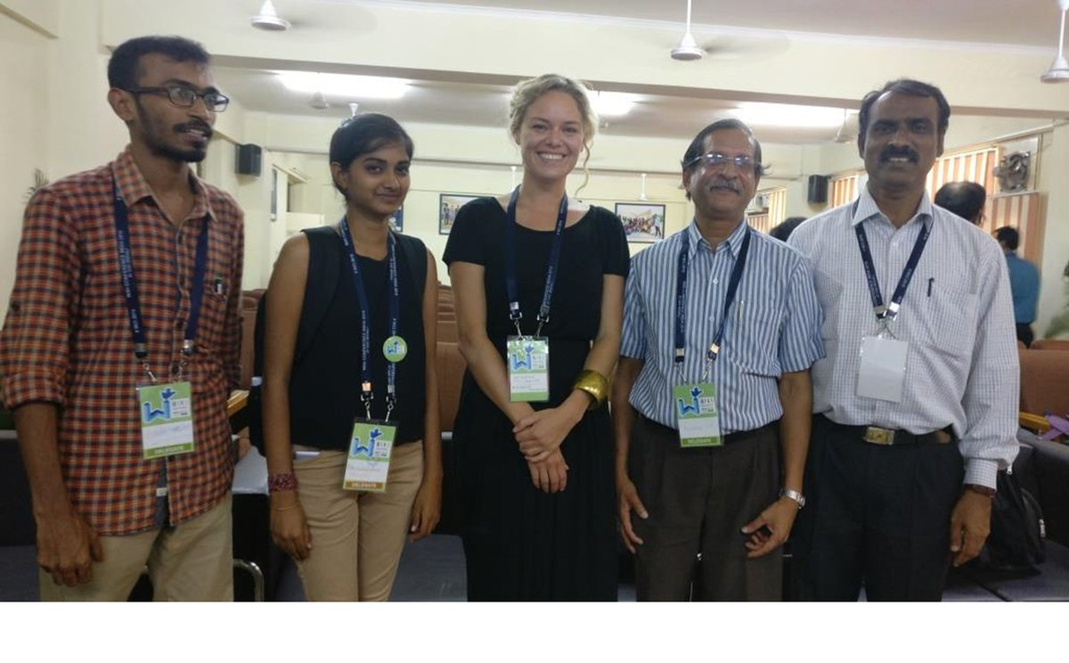 Some active Tulu Wikipedians with Katherine Maher, Chief of Wikimedia Foundation during Wikiconference India 2016 at Chandigarh @TuluWiki @alasande @Wikipedia @CISA2K https://t.co/LtWOKcUV9Q https://t.co/qLvINNxOLH