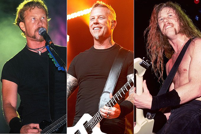 Happy birthday to James Hetfield from Metallica!  What are some of your favorite Metallica songs??