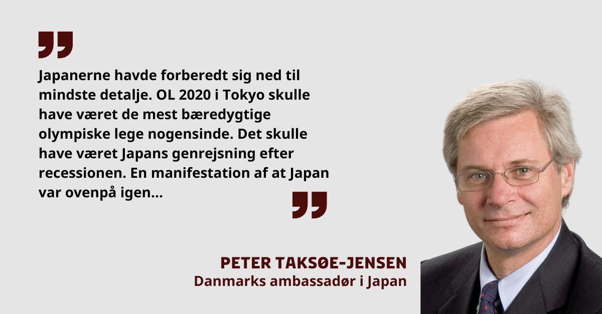 """Læs indlægget """"Fra grøn indsprøjtning til økonomisk mavepuster"""" om Japans situation efter udskydelsen af OL til 2021 af Danmarks ambassadør i Japan 🇯🇵 @petertaksoe. https://t.co/r7cpMWnFTs  #dkpol https://t.co/U1MM3QLZZz"""