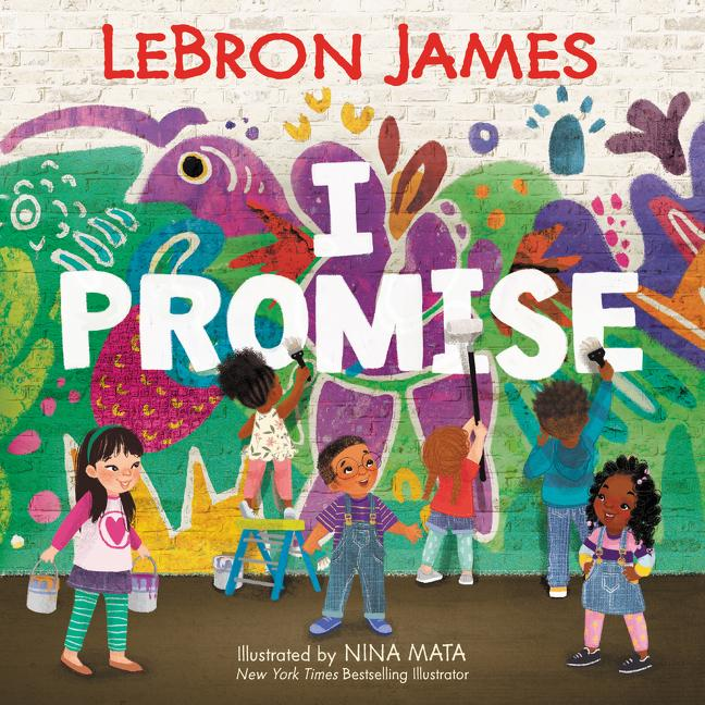 "LeBron James wrote a children's book titled ""I PROMISE"" that will be available on August 11, 2020. LeBron has a two-book deal with HarperCollins and he's also writing a ""middle grade novel"" that will come out in 2021. Here's the cover of ""I PROMISE,"" which can be pre-ordered now: https://t.co/9N91HNV9RP"