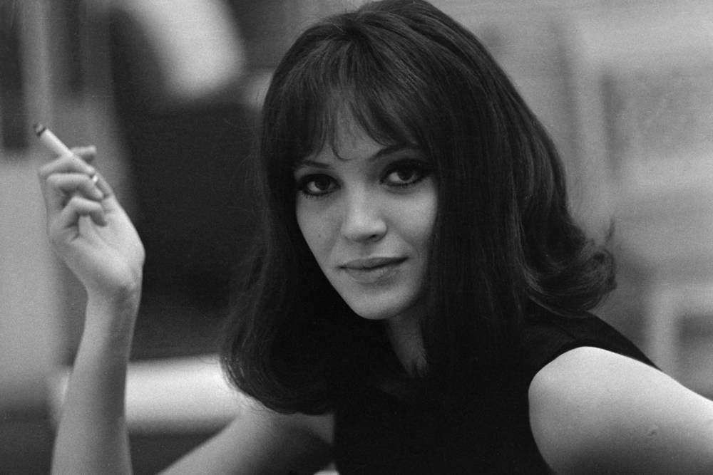 Anna Karina Photography © André Grassart On the set of Alphaville 1965