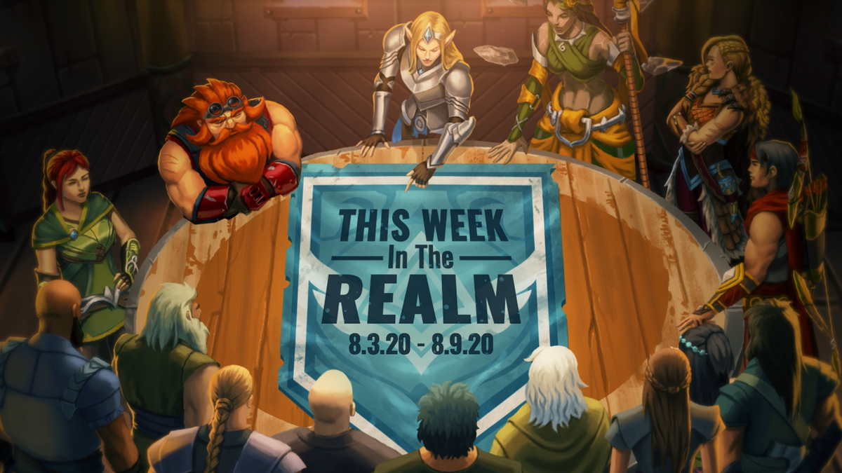 This Week in the Realm: Champion Anniversaries Themed Fan Art Friday Bonus XP Weekend Check all the detail in our blog: paladins.com/news/this-week…