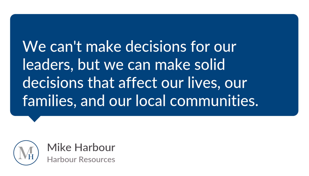 We can't make decisions for our leaders, but we can make solid decisions that affect our lives, our families, and our local communities.  Read the full article: The American Dream ▸ https://lttr.ai/UhBe  #Humanresources #Coaching #Growth #Leadershipdevelopmentpic.twitter.com/rVSech5lQM