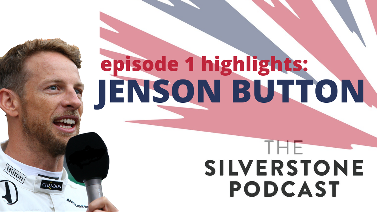 .@JensonButton talks about his love of Silverstone.  If you've not listened to the very first official @SilverstoneUK podcast - download it & subscribe now for more from JB, @LandoNorris and #EddieJordan to name a few:  https://t.co/jh5okhtPhO  Watch here: https://t.co/nA8cDPw3cc https://t.co/kV1cVH4KKC