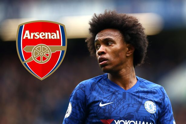 """Arsenal y Willian llegan a un acuerdo para que el atacante Brasileño sea """"Gunner"""" a partir de la próxima temporada, firmaría por 3 temporadas llegando gratis al club Londinense luego de rechazar contrato con el Chelsea por 2 años más. https://t.co/KlFzLubL4N"""
