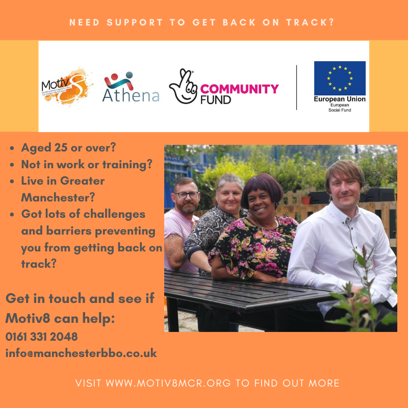 If you have reached rock bottom and want to know how we can support you to take steps to move forward with your life, take a look at our success stories on this link motiv8mcr.org/success-stories #BuildingBetterOpportunities #TNLComFundESF @TNLComFund #MondayMotivation