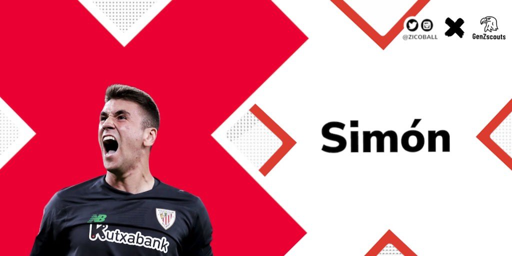 Unai Simón (23) 🇪🇸 #AthleticClub #laliga https://t.co/2LEOedKMZR