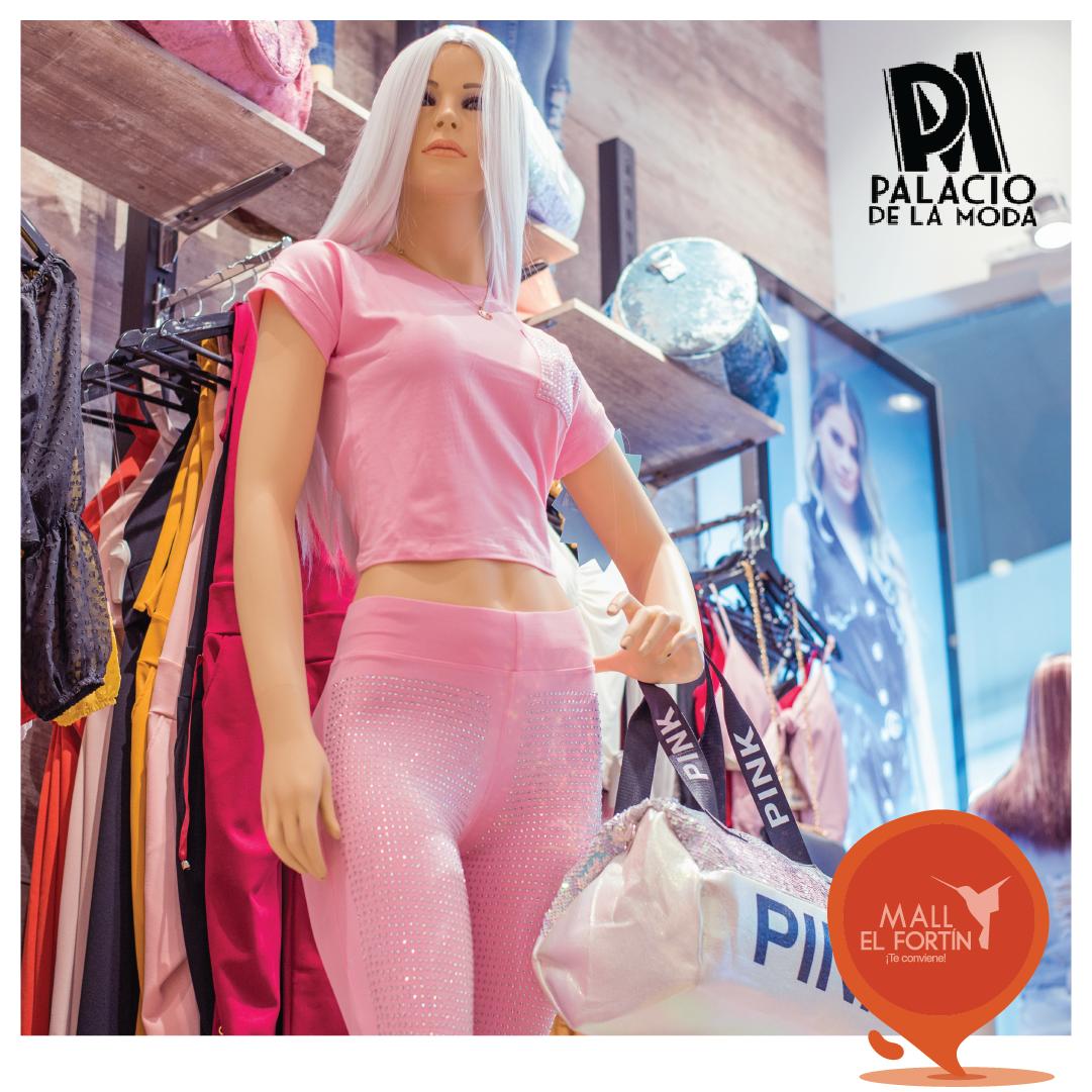 ¿Tu color favorito es el rosa? Ven al #PalacioDeLaModa en nuestra planta alta y sorpréndete con las mejores prendas y accesorios a increíbles precios. https://t.co/vPImiPHqkk