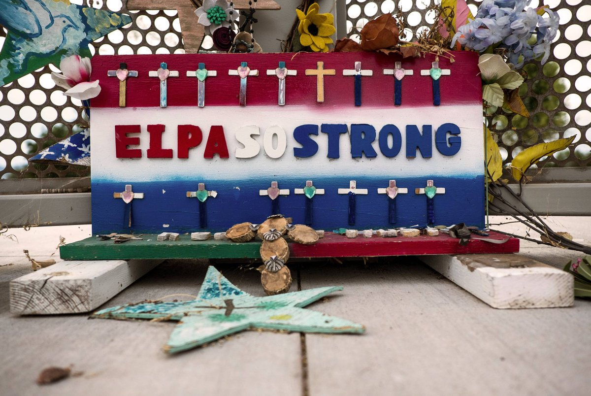 One year has passed since the El Paso Walmart shooting, the deadliest attack on Latinos in modern U.S. history. The people of a city still racked with grief marked the anniversary with vigils, remembrances and demonstrations: bit.ly/39TsgOd