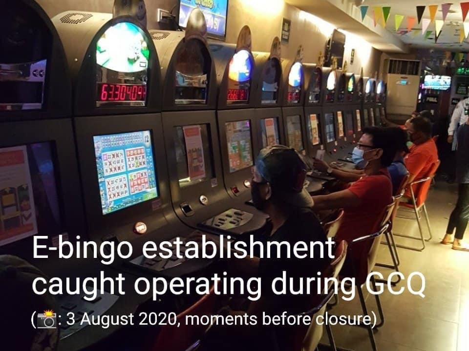 Pasig City Mayor Vico Sotto orders the closure of an E-bingo establishment caught operating during GCQ: For now, indefinite closure. But our Legal Department will also study further action. 📷Mayor Vico Sotto