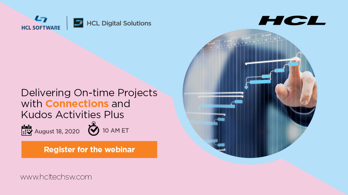 Webinar Gratuito! Venha ver como gerenciar seus projetos colaborativa mente com #HCLConnections 6.5 e o Kudos Activities Plus #socialbiz #connections #HCLDigital #HCLSoftware https://t.co/Hu9EbuzB9f