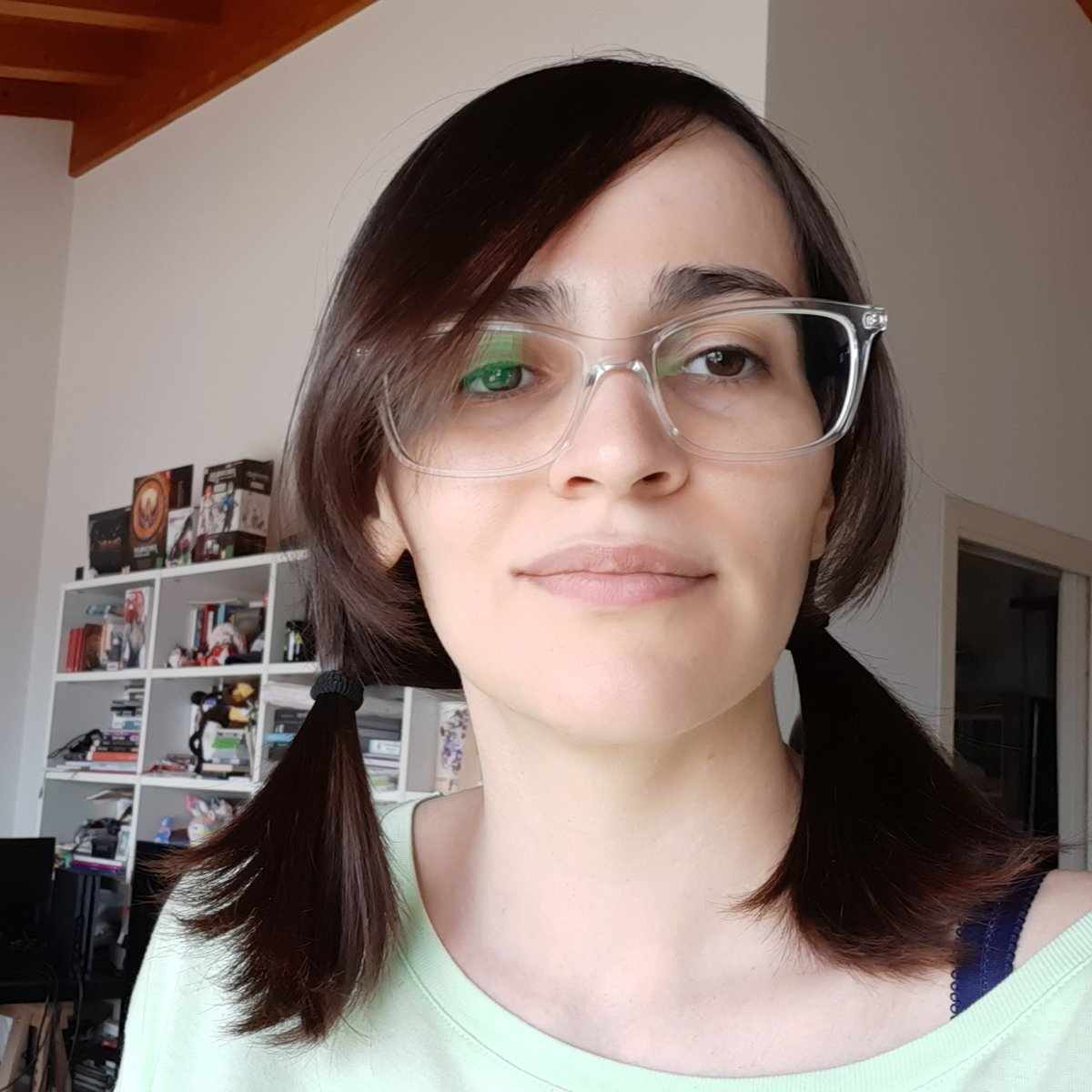 Neneko Colors A Twitter Between Mess And Covid I Have Not Seen A Hairdresser Since Last November But In This Way At Least I Stopped Cutting My Hair Too Short And I