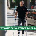 Image for the Tweet beginning: Kaum bei #Werder, schon verletzt: