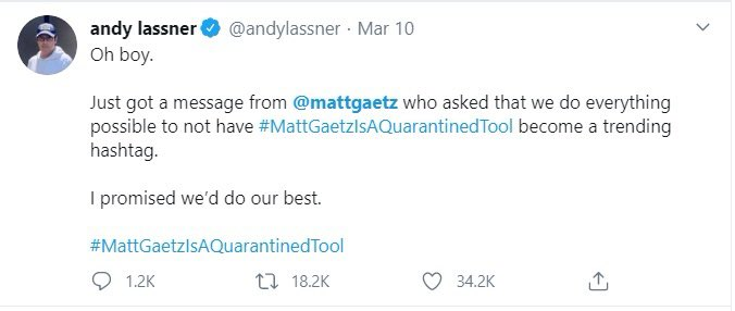 Oh boy.   Just got a message from @andylassner that he might get fired for abusing employees on @theellenshow.   Sexual misconduct, toxic work environment and being mean to Brad Garrett all alleged against Ellen producers.  He wants this info out.  I promised we'd do our best. https://t.co/SJ0kNLU0Yb