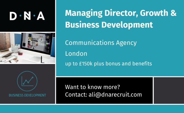 Our client is a global communications agency known for its work in PR, digital and social across consumer and business accounts over a wide range of sectors, now looking for an MD, Growth and Business Development #dnarecruit #dnajobs #london #MDjobs https://t.co/kuNUQsAbDs https://t.co/l34kxNUmOy