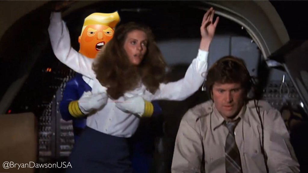 Right now, somewhere on Air Force Won, after a meeting in #Frorida with the Queen of Normay, Prince of Whales, & Ambassador of Nambia. The President of the Virgin Islands was caught on the golf course & absent from substantive discussions regarding deaths of nearly 160K Americans twitter.com/realdonaldtrum…