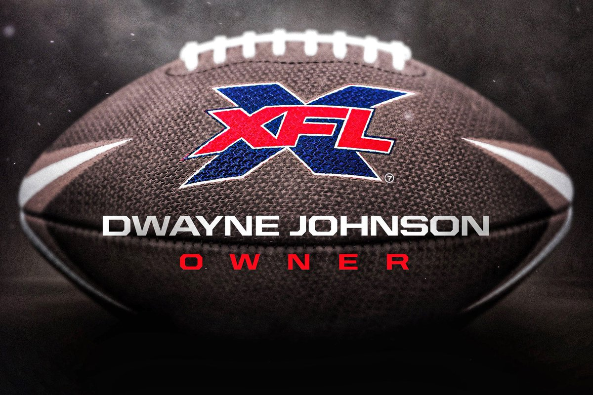 XFL Creditors File Motion To Stop Sale Of The League To The Rock And His Partners