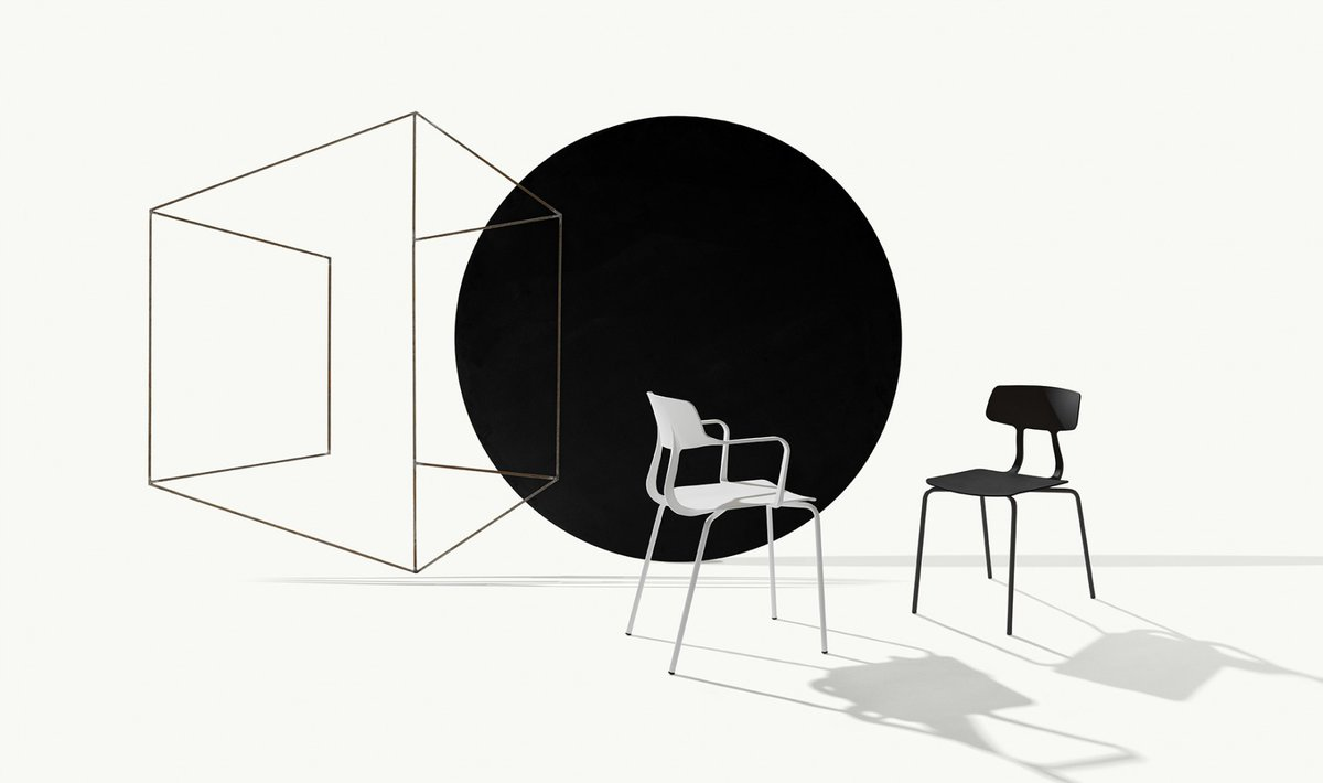 Snap consists of both propylene and metal tubes. The collection is a unique family of furniture which consists of a chair with or without armrests and a stool. Together, they excel in both simplicity and functionality.   https://t.co/QI5hH8Oubz