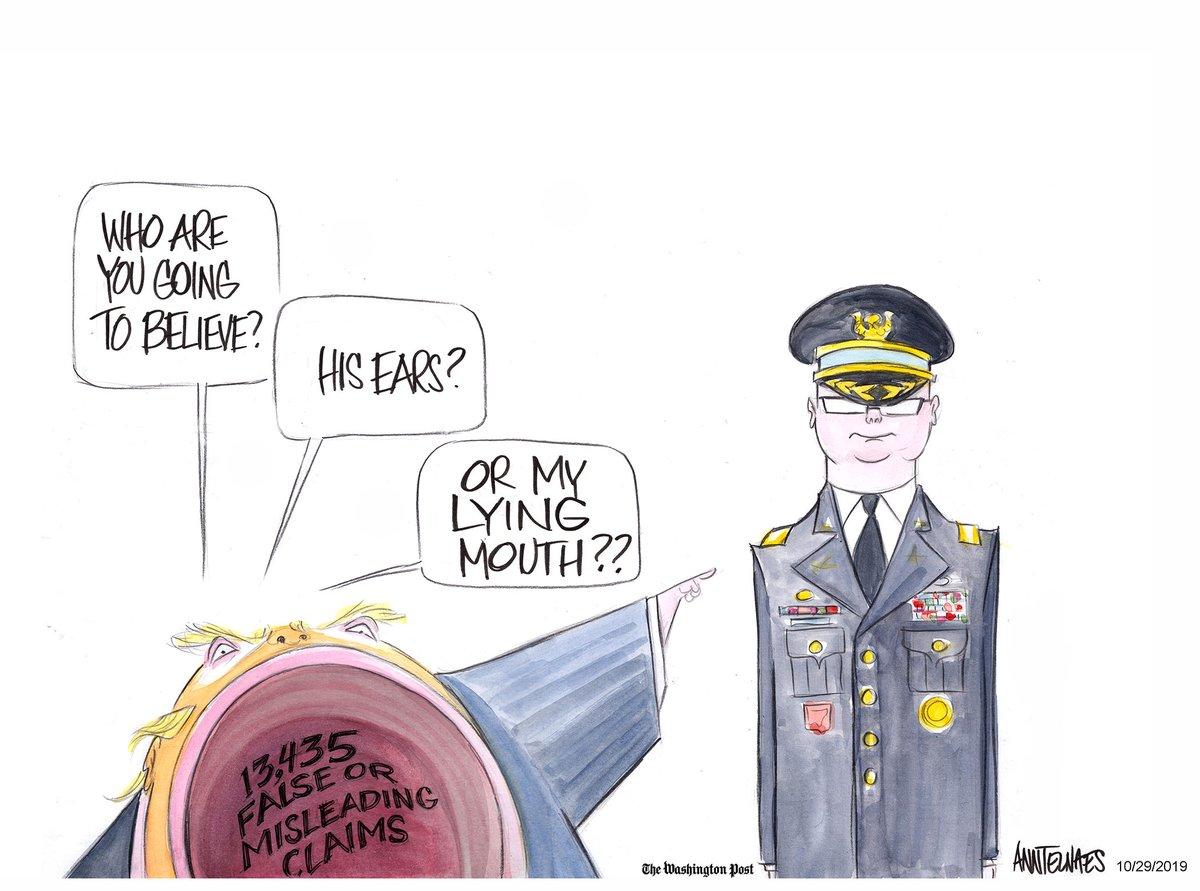 #uspoli #Ukraine Alexander Vindman TRUTH vs djt LIES by @AnnTelnaes https://t.co/YjoExR68ku   #uspolitics #bunkerboy 🇺🇸🇺🇸🇺🇸🇺🇸 #maga #kag #PersonWomanManCameraTv