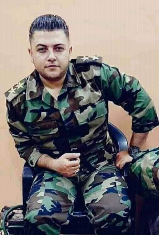 #Syria: In spite of #Trumpeos barbaric sanctions and in spite of #COVID_19, Syria is still sacrificing its best men to purge the world from terrorism. Aboud Aboud was martyred fighting the terrorists today. Rest in peace, holy martyr!