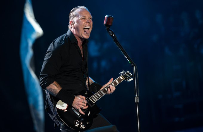 Happy birthday to one of my idols one of the best to do it. The Down picking God James Hetfield