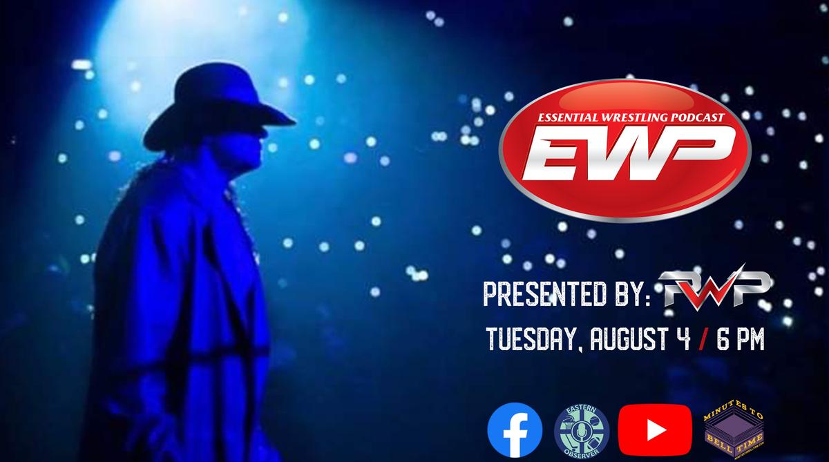 TONIGHT: Episode #  of the Essential Wrestling Podcast with @pwpickem, John D'Aconti, and John Smith returns!  : Tuesday, August 4 : 6 PM(EST) : http://bit.ly/33lqdBj  #WWERaw | #AEW | #AEWDynamite | #WWESmackdown | #WWENXT | #ImpactWrestlingpic.twitter.com/0o64BHE646