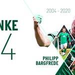 Image for the Tweet beginning: #Danke44 💚   #Bargfrede | #Werder