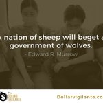 Image for the Tweet beginning: A nation of sheep will
