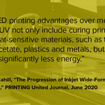 Image for the Tweet beginning: Overheard from the PRINTING United