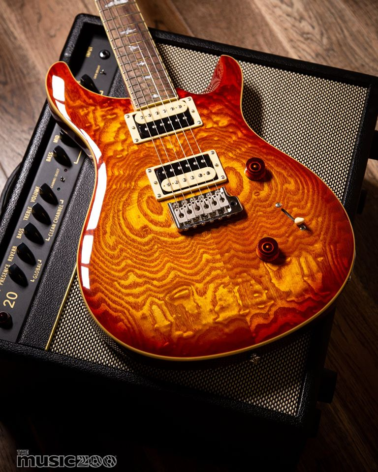 For the price - you simply can't go wrong with a @prsguitars SE Custom 24. Featuring an exotic Burled Ash veneer, mahogany body, rosewood fretboard, and two coil-tappable 85/15 S humbuckers!  Shop now: http://bit.ly/MZprscollection  #prs #guitarsdaily #guitarspic.twitter.com/QtF0qGNgf6