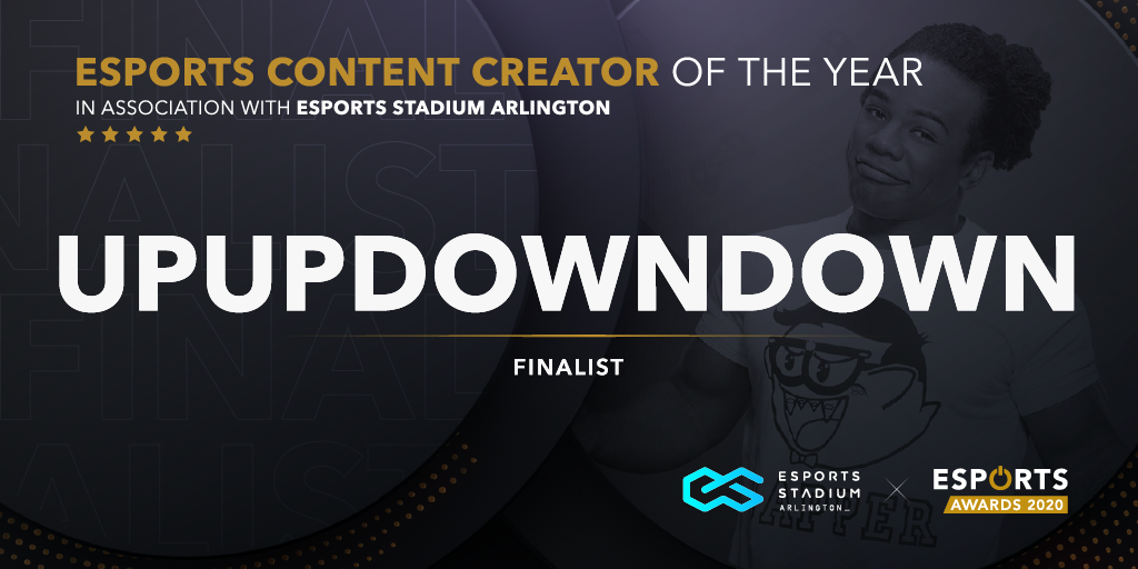.@UpUpDwnDwn Is a sports entertainment superstar with a passion for gaming and content. @XavierWoodsPhD has built his platform showcasing his personality and engaging fans across the globe with his content, but does he get your vote?  VOTE HERE: https://t.co/VVVNebfM6e https://t.co/Kpe3qP4FMi