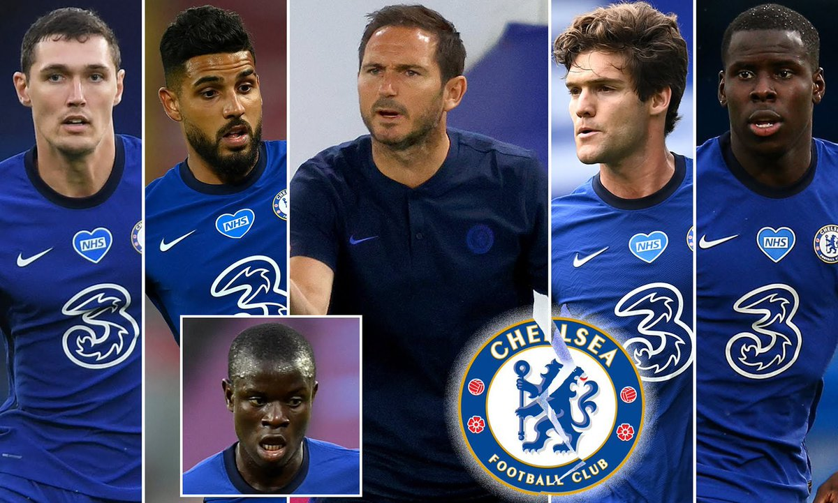 Bern reported by @MailOnline that Chelsea have put FOUR defenders up for sale, as Frank Lampard plans a clear-out - with NGolo Kante also available to help fund moves for a goalkeeper, centre back and left back.