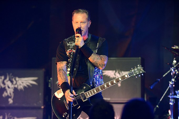 Can I get a hell yeah?!  Happy birthday to James Hetfield of Metallica!