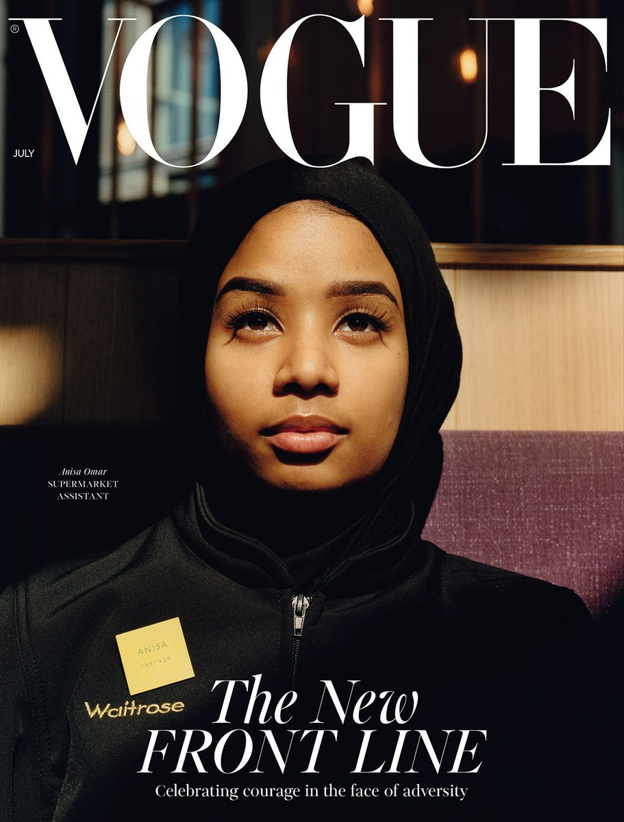 British Vogue - Defining a Nation one cover at a time... BA Student Alice Morey investigates how the Vogue cover has reclaimed our understanding of Britishness and promotes cultural debates happening within society in our latest student blog post...  https://t.co/rlA2yiETlh https://t.co/X7CgzqSPts