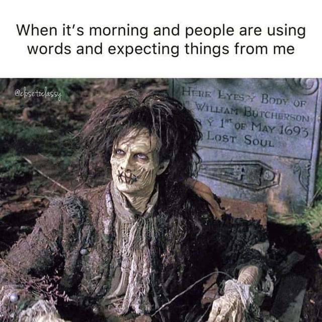 It really depends on how deep in sleep I was when you wake me.  #Morning #HorrorLover #HorrorFamily #SleepLikeTheDeadpic.twitter.com/MzhSX6OFXi